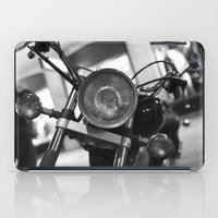 motorcycle iPad Cases featuring Motorcycle by James Tamim