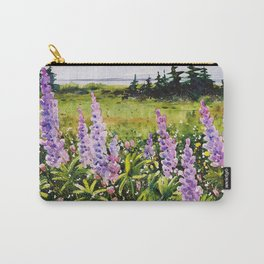 Lupines of Nova Scotia Carry-All Pouch