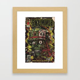 VietZombie Comic Framed Art Print