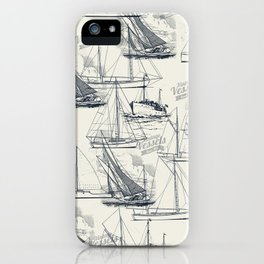 sailing the seas mode iPhone Case