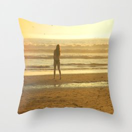 HOW SUMMER WOULD FEEL Throw Pillow