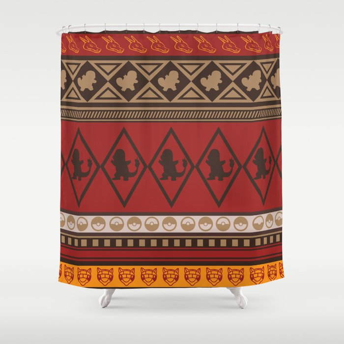 Poke Tribe Southwest Shower Curtain