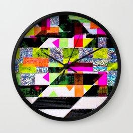 Glitch Wall Clock