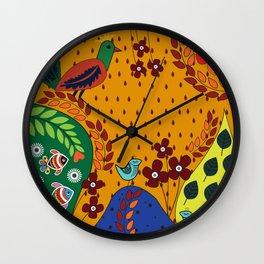 Pattern X Wall Clock