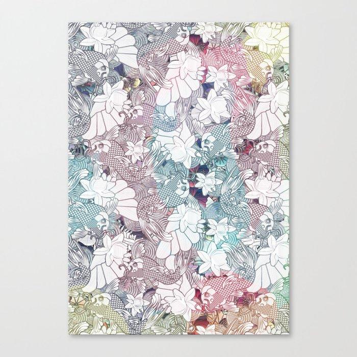 Koi canvas print by kociara society6 for Koi prints canvas