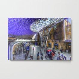 Kings Cross Station London Metal Print