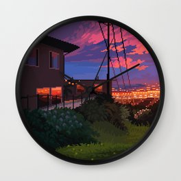 Calm Overlook Wall Clock