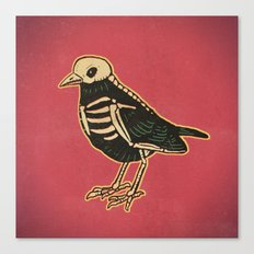 Dead Bird Canvas Print