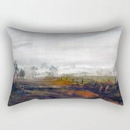 Misty meadow Rectangular Pillow