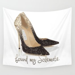 Found My Solemate Wall Tapestry