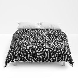 Aboriginal Art Authentic - Meeting Places Comforters