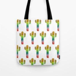 Desert Rainbow II PRIDE PATTERN Tote Bag