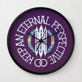 Eternal Perspective Wall Clock