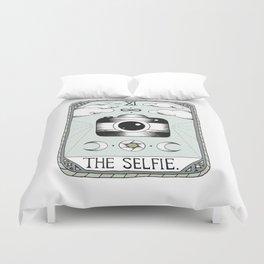 The Selfie Duvet Cover