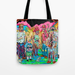King of the Mutants Tote Bag