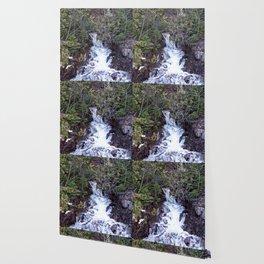 Mountain Cascade Wallpaper