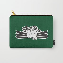 Slug Bug Fist With Dark Green Background Carry-All Pouch