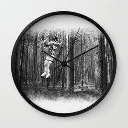 Wrong Turn Wall Clock