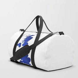 United Kingdom Map silhouette Duffle Bag