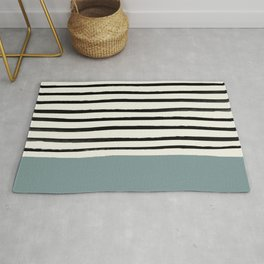 River Stone & Stripes Rug