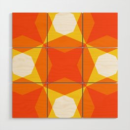 Geofluro #4 Wood Wall Art