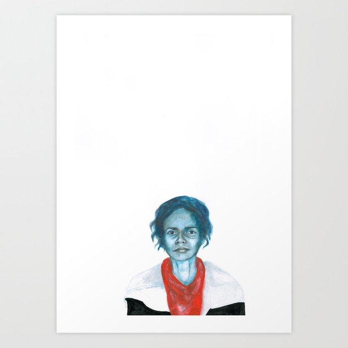 Au travail 6 Art Print