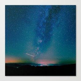 Desert Summer Milky Way Canvas Print