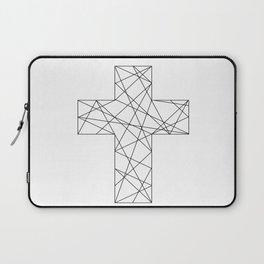 Geometrical cross // Tara Laptop Sleeve