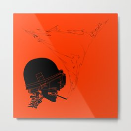 Agent Orange Metal Print