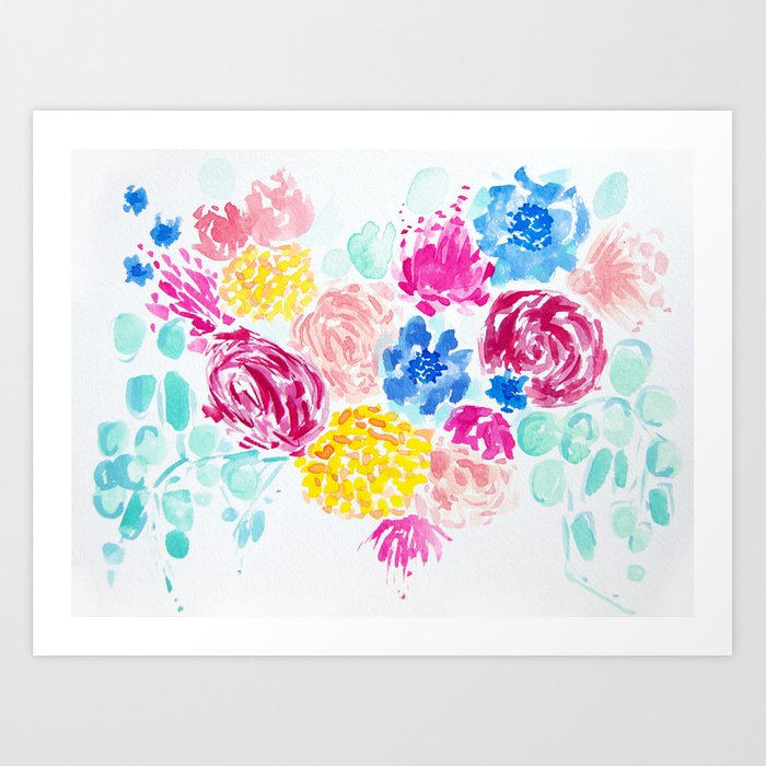 Kelley's Garden Art Print