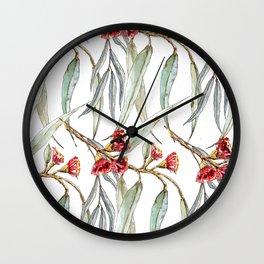 Eucalyptus Garden Wall Clock