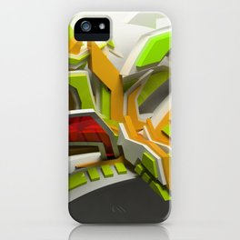 dj souray 3d graffiti iPhone Case