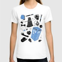 doctor T-shirts featuring Artifacts: Doctor Who by Josh Ln