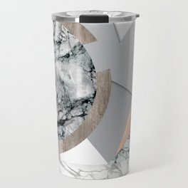 Collage I ( marble and copper ) Travel Mug