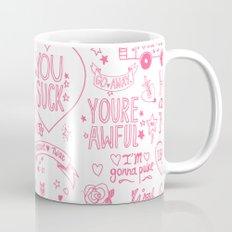 Obscenities Print Mug