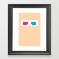 Glasses 5 Framed Art Print