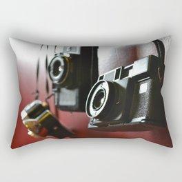 Vintage Cameras Rectangular Pillow
