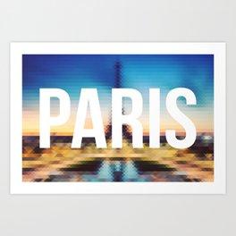 Paris - Cityscape Art Print