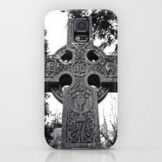 Celtic cemetery cross Galaxy S5 Slim Case
