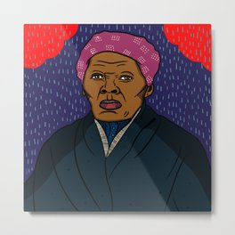 Harriett Tubman Metal Print