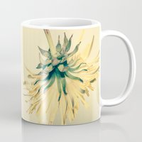 weed Mugs featuring Weed by Dora Birgis
