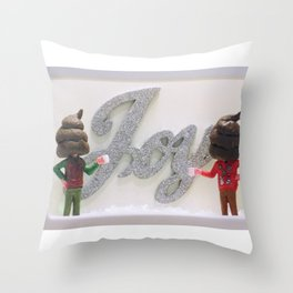 Have Yourself a Shitty Little Holiday Throw Pillow