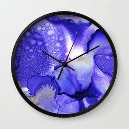 Moon Dust Wall Clock