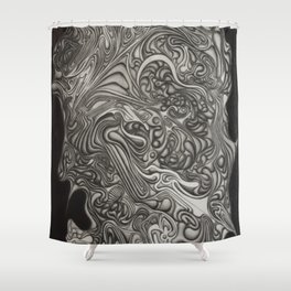 H.R.H. Shower Curtain