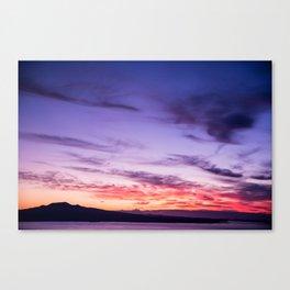 Auckland Sunset Canvas Print