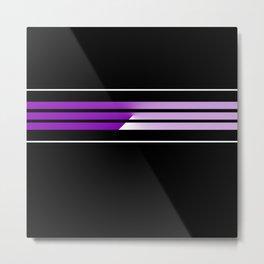 Team Colors 5...Purple Metal Print