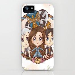 Tessa & Will & Jem iPhone Case