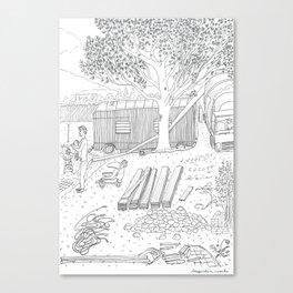 beegarden.works 015 Canvas Print