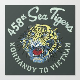 458th Sea Tigers Canvas Print