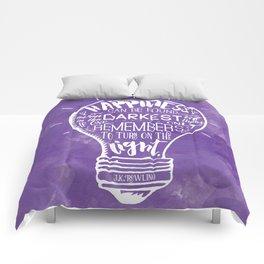 Turn on the Light Comforters